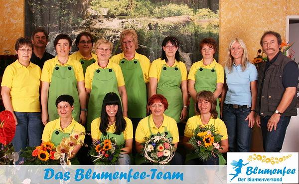 Blumenfee - Der Blumenversand Teamfoto
