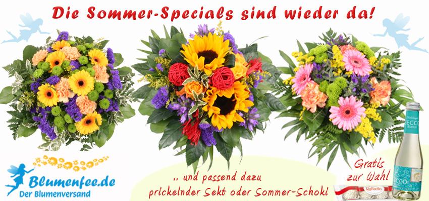 Sommer Blumenversand online