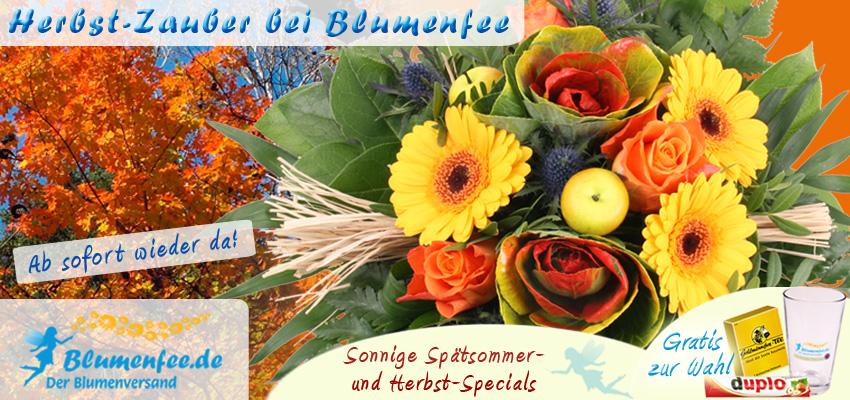 Hebst Blumen Versand online