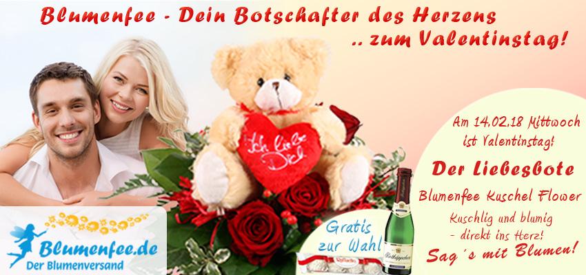 Blumenfee Valentins Blumenversand online