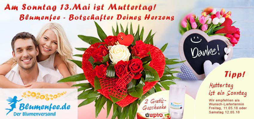 Blumenversand Muttertag online