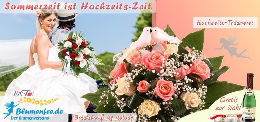 Blumen zur Hochzeit bei Blumenfee