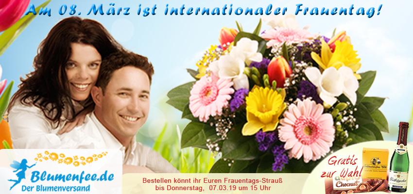 Frauentag Blumen online versenden