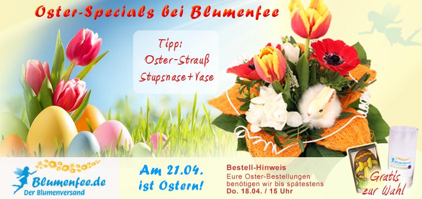 Osterblumen bei Blumenfee online versenden