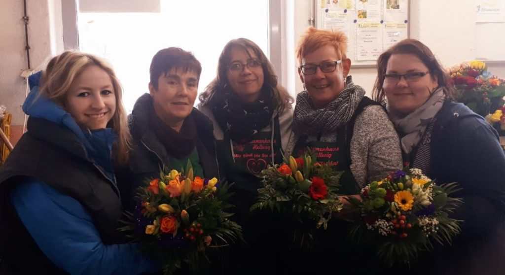 Blumenfee Floristen Team