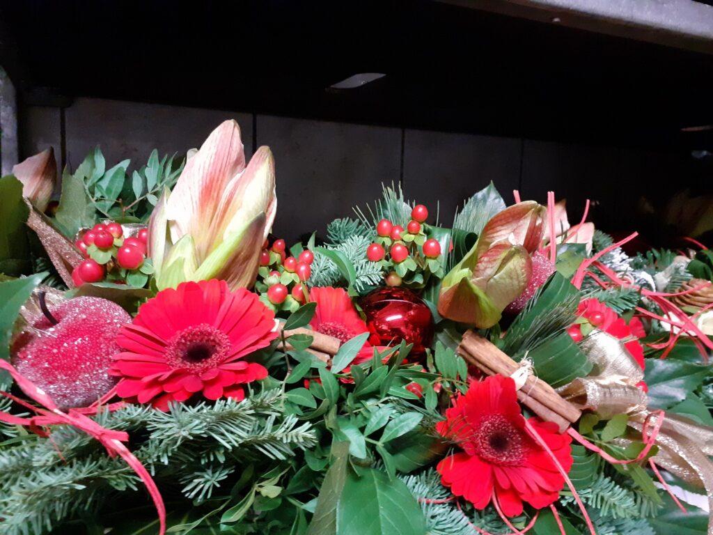 Advents-Blumensträuße online versenden
