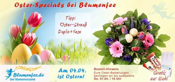 Blumenfee Oster Blumenversand online