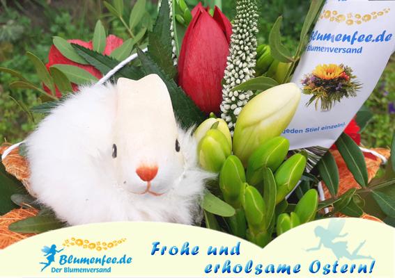 Blumenfee wünscht Frohe Ostern!