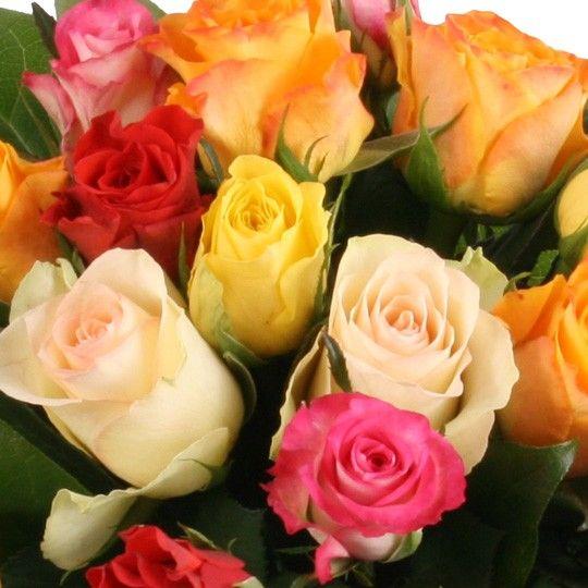 20 rosen im farbmix und gratis vase online versenden. Black Bedroom Furniture Sets. Home Design Ideas