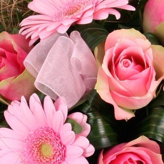 blumenstrau bl tentraum in rosa mit gratiszugabe. Black Bedroom Furniture Sets. Home Design Ideas