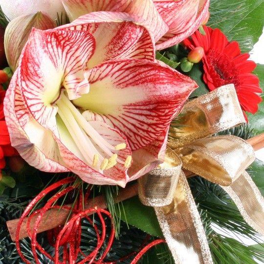 Blumenstrau lichterglanz mit gratiszugabe ihrer wahl for Weinrote deko