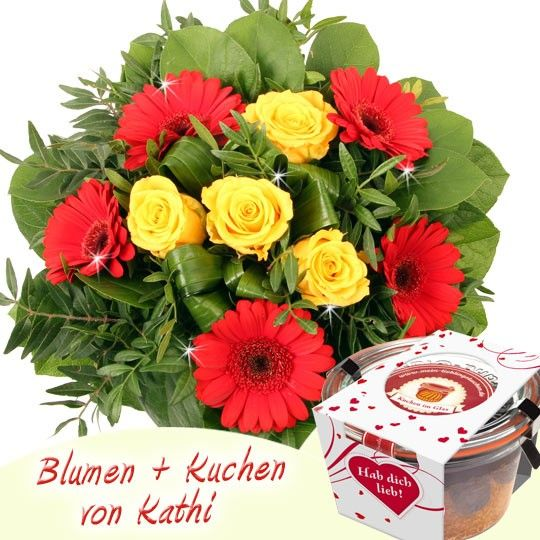 blumenfee kathi special blumen und kuchen im glas online verschicken. Black Bedroom Furniture Sets. Home Design Ideas