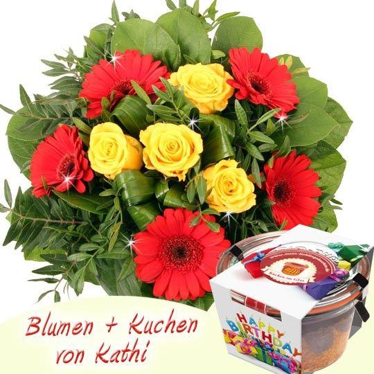 Blumen Und Kuchen Zum Geburtstag Blumenfee Kathi Special Gut Und