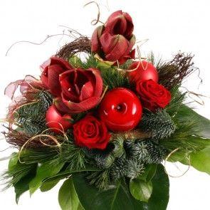 Blumenstrauß Weihnachtstraum mit Gratiszugabe Ihrer Wahl – Blumen online deutschlandweit verschicken mit www.blumenfee.de - dem Blumenversand