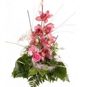 Blumenversand Blumenfee - Orchideen  online bestellen - Blumenstrauss Orchidee Rosa Traum