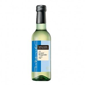 Weiss Wein Grauer Burgunder trocken 0,25l