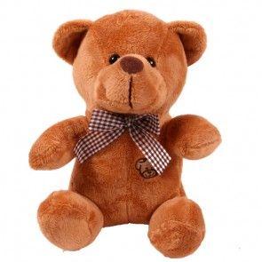 Teddybär in Dunkelbraun als Ergänzung zu Ihrem Blumenstrauß - online bestellen auf blumenfee.de