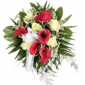 Brautstrauß Hochzeitstraum – Brautstrauß online deutschlandweit versenden mit www.blumenfee.de - dem Blumenversand