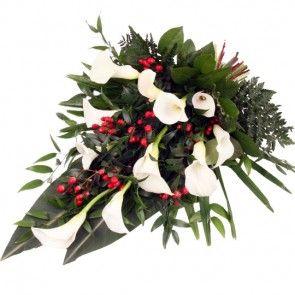 Trauerstrauß / Grabstrauß –Trauer- Blumen online verschicken auf www.blumenfee.de