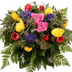 Blumenstrauß Frühlingszauber mit Gratiszugabe Ihrer Wahl – Blumen online deutschlandweit versenden  mit www.blumenfee.de - dem Blumenversand