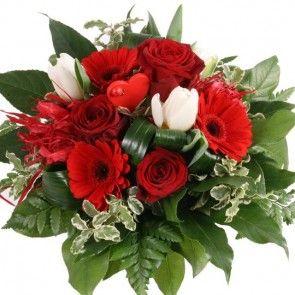 Blumenstrauß In Love mit Gratiszugabe Ihrer Wahl – Blumen online deutschlandweit versenden  mit www.blumenfee.de - dem Blumenversand