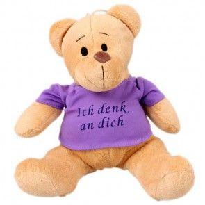 Teddybär mit T-Shirt -  die kuschelige Ergänzung zu Ihrem Blumenstrauß - online bestellen bei Blumenfee.de