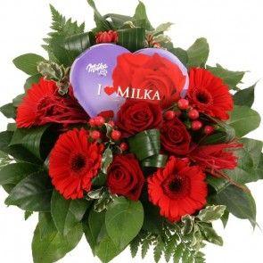 Blumenstrauß zu Valentin Sweet Dreams  – Blumen zum Valentinstag online deutschlandweit versenden  mit www.blumenfee.de - dem Blumenversand