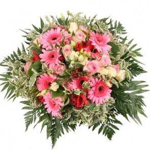 """Blumenstrauß """"Rosery Premium"""" mit 3 Gratiszugaben Ihrer Wahl – Blumen online deutschlandweit verschicken auf mit der Blumenfee"""