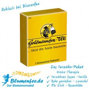 Blumenfee Goldmännchen Verwöhnpaket online verschicken