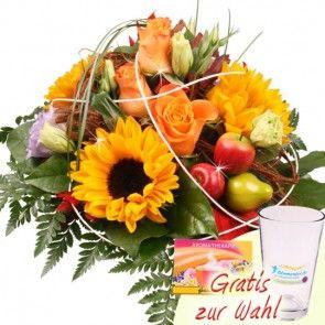 Herbst Blumen Premium - online bestellen und versenden mit Blumenfee