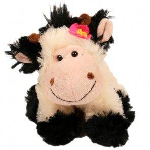 Kuscheltier Kuh und Blumen schnell und sicher online verschicken mit Blumenfee.