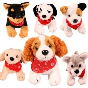 Plüschhund - 6 verschiedene Rassen zur Auswahl