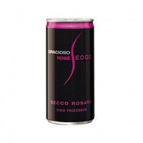 Gracioso Rosé Secco Dose 0,2 l Pfandfrei