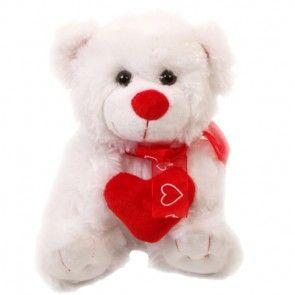 Teddybär Brummel mit Herz