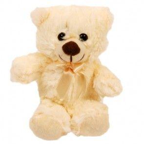 Teddy Super Soft - ein tolles Geschenk - Blumen und Teddy zusammen versenden.