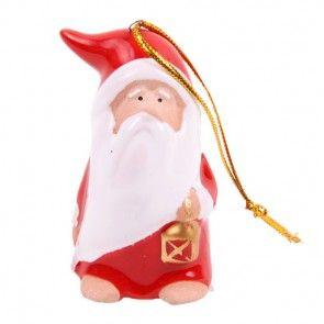 Weihnachtsmann-Figur - zum Stehen oder Anhängen - online bestellen