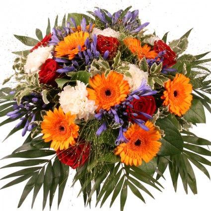 """Blumenstrauß """"Blütenpracht"""" mit 3 Gratiszugaben Ihrer Wahl – Blumen online verschicken auf www.blumenfee.de"""