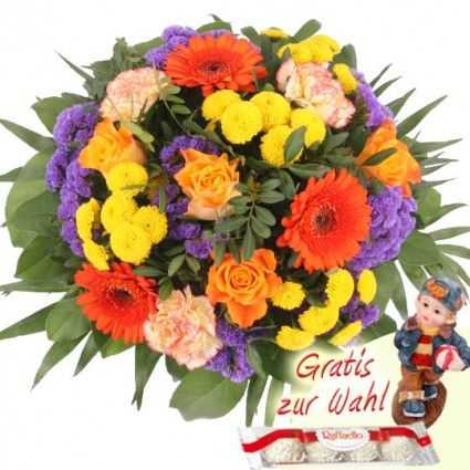 Blumenversand Blumenfee.de – Blumenstrauß Sommer-Faszination  online bestellen und verschicken mit dem schnellen und günstigen Blumenversand
