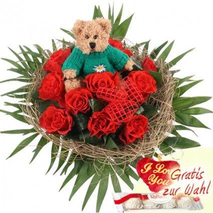 Blumenstrauss Bussi – Blumen online deutschlandweit bestellen mit www.blumenfee.de - dem Blumenversand