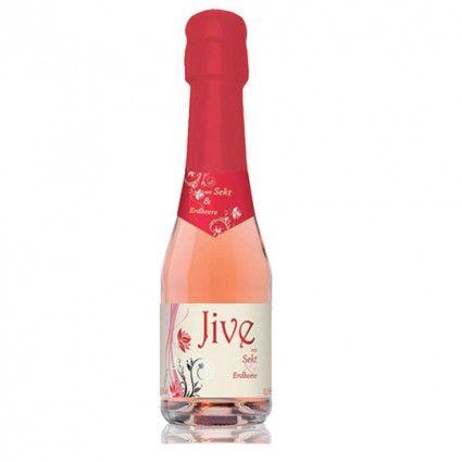 Jive Sekt Cocktail mit Erbeeren - zusammen mit Blumen online versenden