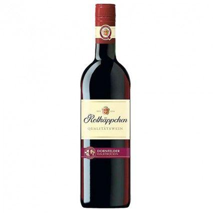 Rotwein Rotkäppchen Dornfelder  0,75l