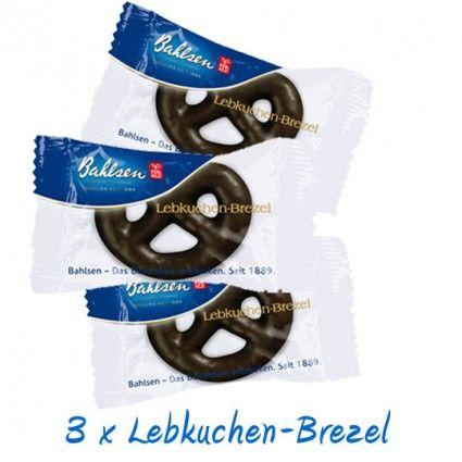 Bezel-Trio - 3 leckere Lebkuchen Brezeln von Bahlsen