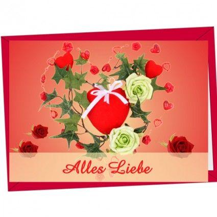 Hochwertige Motivgrußkarte als Ergänzung für Ihren Blumenstrauß online bestellen auf www.blumenfee.de