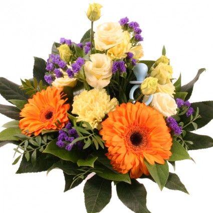 """Blumenstrauß """"Kleiner Prinz"""" mit 3 Gratiszugaben Ihrer Wahl – Blumen online im Blumenfee Blumenversand verschicken www.blumenfee.de"""