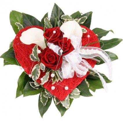 Brautstrauß Liebe – Brautstrauß online deutschlandweit versenden mit www.blumenfee.de - dem Blumenversand
