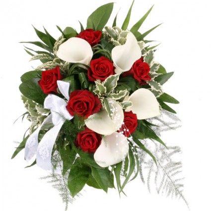 Brautstrauß My Melody – Brautstrauß aus Rosen und Calla