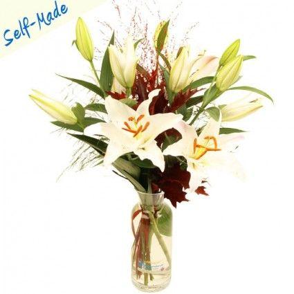 Blumenstrauß selbst zusammenstellen und kreativ wirken - Blumenfee Self Made Blumen Specials!