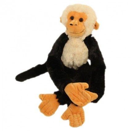 Affe mit Klettverschlüssen - die kuschelige Ergänzung zu Ihrem Blumenstrauß - online bestellen bei Blumenfee.de