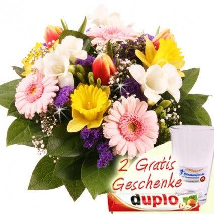Blumen zum Frühling online verschicken - Frühlingsstrauß online verschicken mit dem günstigen Blumenversand Blumenfee