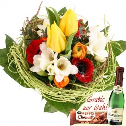 Blumenstrauß Frühlings Gefühle online verschicken - mit dem schnellen Blumenversand Blumenfee
